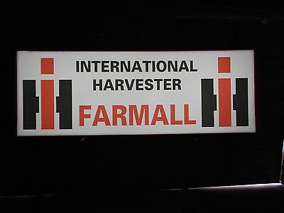 International Harvester Farmall Lighted Sign