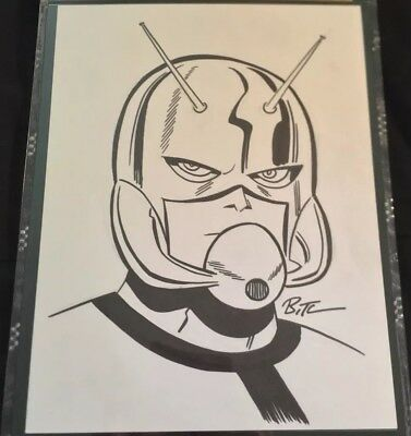 Ant Man sketch BRUCE TIMM original art CGC SS signed autograph movie wasp marvel