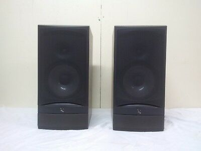Pair Infinity Reference 20003 Bookshelf Speakers Tested Sound Great