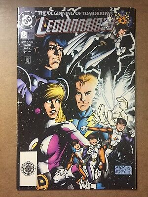 Legionnaires #0 1st appearance of XS Zero HouR Logo Variant CW Flash Show DC