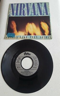 Nirvana-Smells Like Teen Spirit-Even In His Youth-Ges 19050 Vinyl Single Top Ger