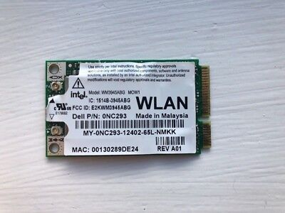 Genuine Dell E1505 D520WLAN Intel Wireless PCIe Card WiFi 3945ABG 0NC293