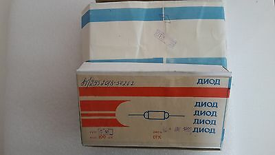 D18  Lot of 100 pcs  Russian (USSR) military Vintage  point contact  Ge diodes