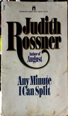 Any Minute I Can Split - Judith Rossner - Paperback - FREE P&P!
