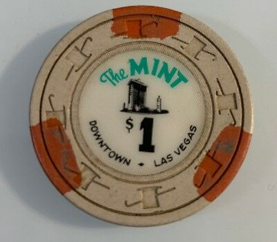 The Mint $1 Casino Chip Las Vegas Nevada 2.99 Shipping