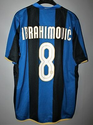low priced e17f1 a2b96 INTER MILAN INTERNAZIONALE 2008 2009 Home Football Shirt Jersey #8  Ibrahimovic