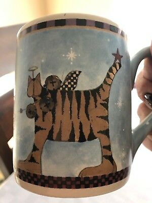 Williraye Studio Cat And Angel Mug