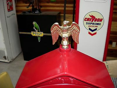 Gamewell Fire/Police Alarm Box Brass Eagle Topper