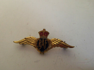 Vintage Raf Official Bundles For Britain By Monet Pin