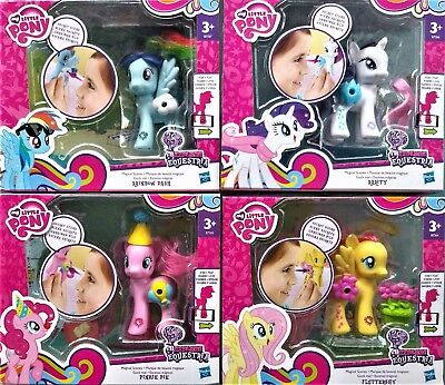 MY LiTTLE PONY FLUTTERSHY RARITY PINKIE PIE RAINBOW DASH 7264 7265 7266 7267
