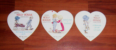Lot of 3 Vintage Holly Hobby Chocolate Candy Box Lids