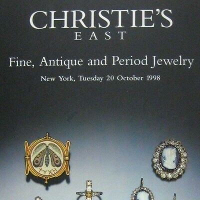 Christies Auction Catalog 1998 New York 8139 Fine Antique and.Jewelry