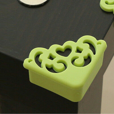 4pcs Table Corner Edge Protective Cover Child Baby Safe Soft Silicone Protector