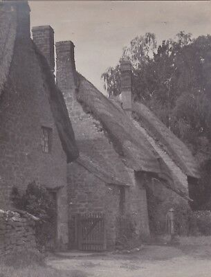 Silver Photograph 1920s England Pictorialist In the Cotswolds