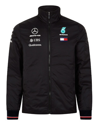 2018 Mercedes AMG Petronas Team Lightweight Padded Jacket - Medium [NEW]