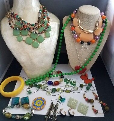 large vintage lot of jewelry... All wearable