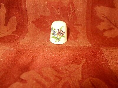 multi colored floral thimble