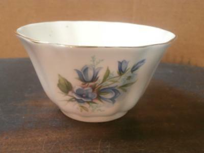 Royal Grafton Blue Flowers Bone China Bowl