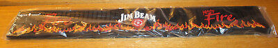 JIM BEAM Kentucky Fire Liquor Bar Rail Mat NEW in Packaging