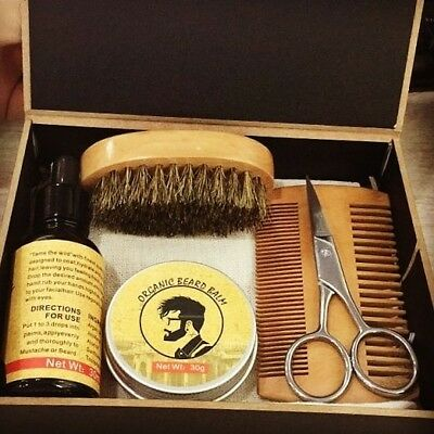 BEARD & MUSTACHE GROOMING CARE KIT for the well groomed man