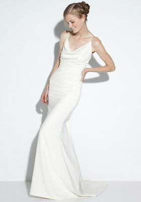 Nicole Miller Bridal Tara Wedding Dress Fj10001 1200 Sz 8 850 00