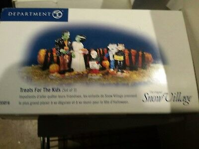 Dept 56 Snow Village Treats for the Kids  Accessory