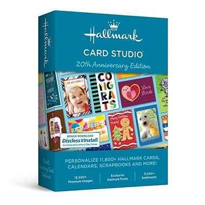 EXCLUSIVE: Hallmark Card Studio 2019 (Scrapbook) W/ Bonus SW & Gift Cards