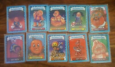 GARBAGE GANG/GARBAGE PAIL KIDS UK SERIES 2018 lenticular 10 card complete set