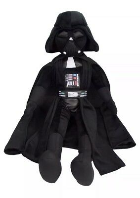 "STAR WARS DISNEY DARTH VADER 26"" STUFFED PLUSH TOY DOLL Black NEW WITH TAGS"