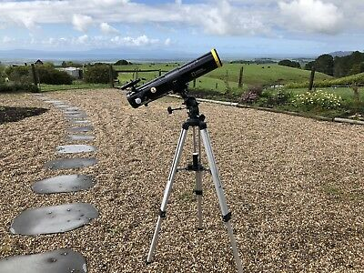 Newtonian Reflector Telescope National Geographic  - Like New!