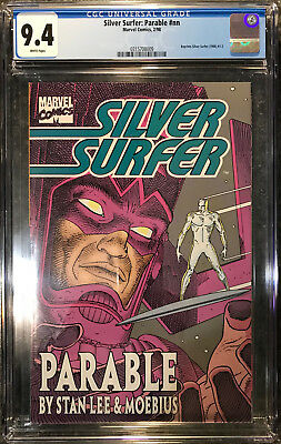 Silver Surfer Parable (Feb 1998, Marvel) CGC 9.4 Universal White Case Perfect