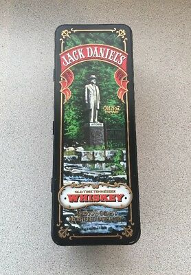 Hard To Find Jack Daniels Old No. 7 Brand Whiskey Hinged Metal Tin