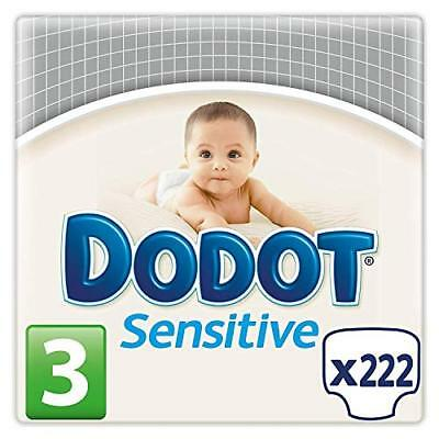Dodot Protection Plus Sensitive - Pañales Talla 3 (5-10 kg), Paquete de 3 x 7...