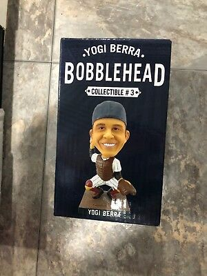 New York Yankees Yogi Berra bobblehead 2013 New in Original packaging!