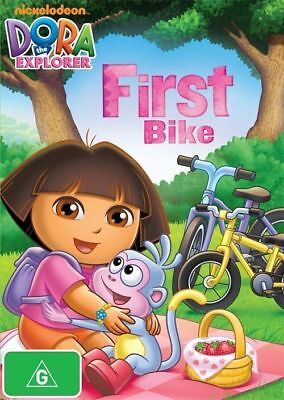 "Dora The Explorer "" First Bike "" : DVD - Nickelodeon - REGION 4 AUSTRALIA"
