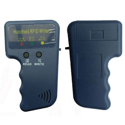CN_ Handheld 125KHz RFID Reader Card Keyfob Copier Duplicating Programmer