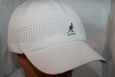 %100 Authentic KANGOL Tropic ventair Space Cap 1456BC RN68438 WHITE NEW 079f14c052a