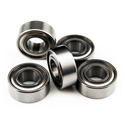 5 pcs 5x10x4 mm MR105ZZ Metal Double Shielded Miniature Ball Bearing Bearings US