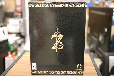 The Legend of Zelda Breath of the Wild Master Edition Nintendo Switch New Sealed