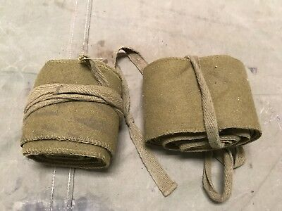 2W Wwi Us M1910 Wool Leg Puttees Wraps