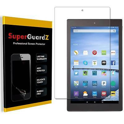3X SuperGuard Clear Screen Protector For Amazon Fire HD 10 Kids (7th Gen, 2017)