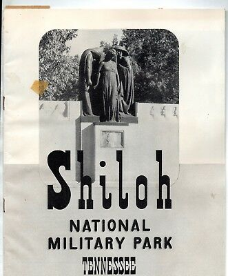 Two vintage. orig. guides to CIVIL WAR MILITARY PARKS: Shiloh,TN & Vicksburg, MS