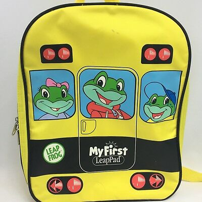Leap Frog BACKPACK School Bus My First LeapPad Storage ONLY