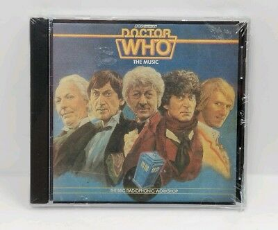Doctor Who The Music CD The BBC Radiophonic Workshop 1983 NEW Sealed