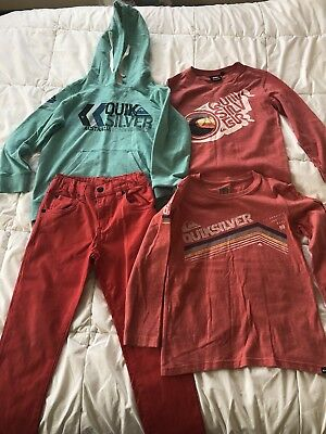 Boys Size 6 Quiksilver Clothing. A+ Condition!