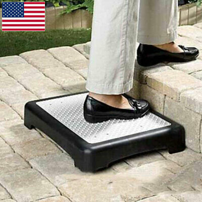 Anti-Slip Half Step Stool Mobility Riser Elderly Door Walking Outdoor Indoor Aid