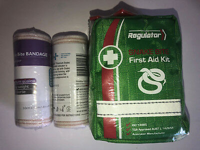 Upgraded Snake Bite Kit - Regulator with Pressure Indicator Bandages Premium