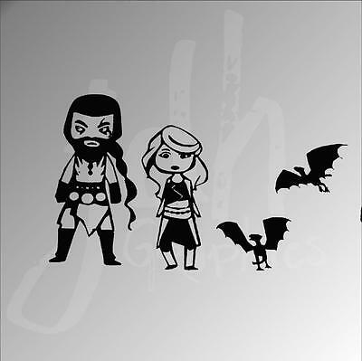 Game of Thrones Stick Figure Vinyl Decal Sticker stick figure Family Funny