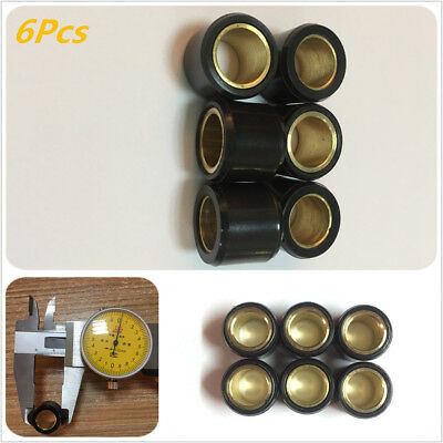 6PCS 16X13 PERFORMANCE Scooter Variator Roller Weights FOR GY6 50CC 49CC