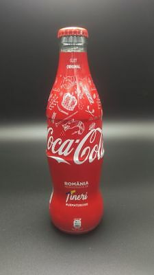 Coca Cola Limited Edition Glass Bottles Shrink Wrapped Romania